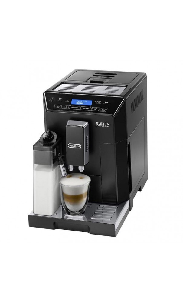 delonghi eletta ecam machine caf grain de 39 longhi. Black Bedroom Furniture Sets. Home Design Ideas