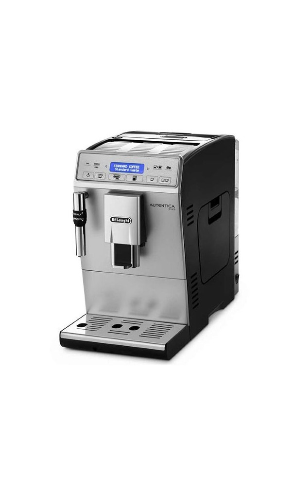 delonghi autentica plus etam kaffeevollautomat 1450 w 1 4 l dampfd se silber. Black Bedroom Furniture Sets. Home Design Ideas