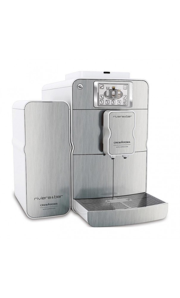 Machine caf automatique et lait ce760a inox de riviera bar - Machine a cafe riviera ...