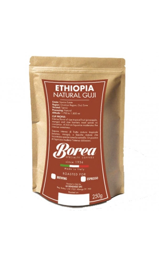 caf en grain ethiopia natural guji 250g de borea chacun son caf. Black Bedroom Furniture Sets. Home Design Ideas