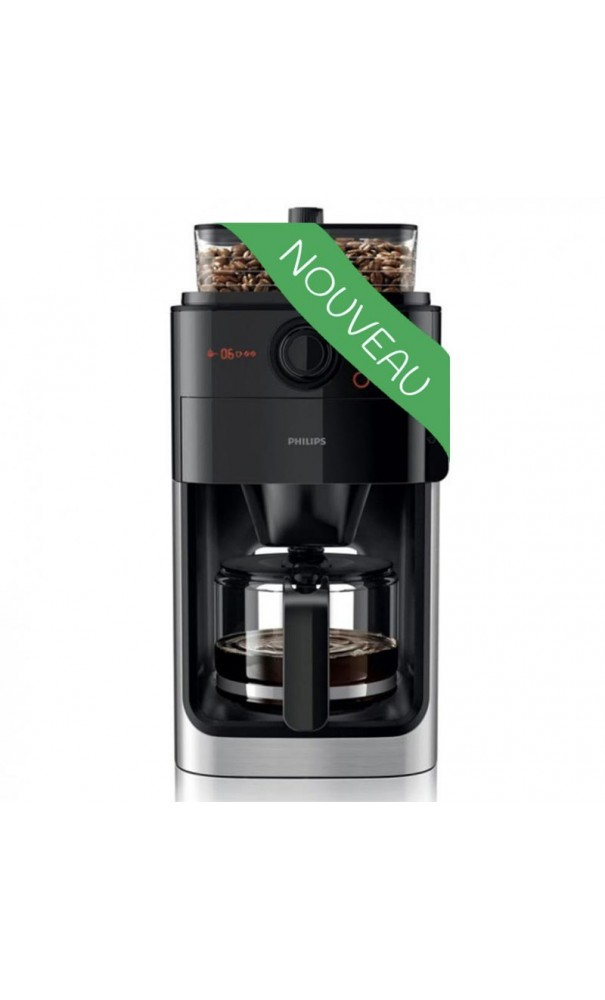 cafeti re filtre grind brew hd7765 00 par philips. Black Bedroom Furniture Sets. Home Design Ideas