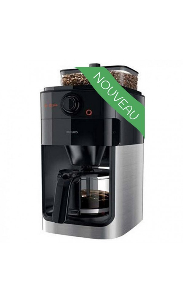 cafeti re automatique philips grind brew hd7766 00. Black Bedroom Furniture Sets. Home Design Ideas