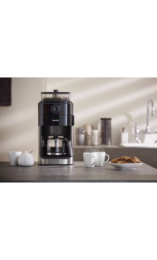 Cafeti 232 Re Automatique Philips Grind Amp Brew Hd7765 00