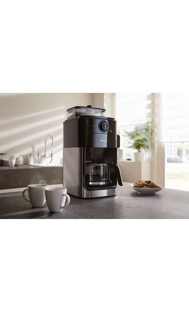 cafeti re automatique philips grind brew hd7765 00. Black Bedroom Furniture Sets. Home Design Ideas
