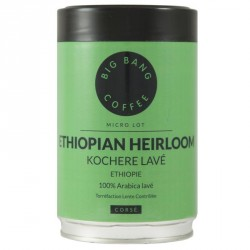 Café Micro-lot Ethiopian Heirloom - Kochere lavé 250 g