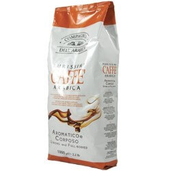 Café en Grains Purissimi - 100% Arabica - Cie Dell Arabica - 1kg