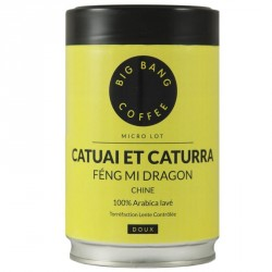 Café micro-lot Catuai et Caturra - Chine - Big Bang Coffee - 250g