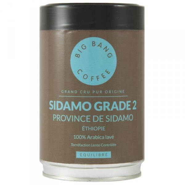 Café en grain Sidamo Grade 2 Ethiopie - Big Bang Coffee 250g