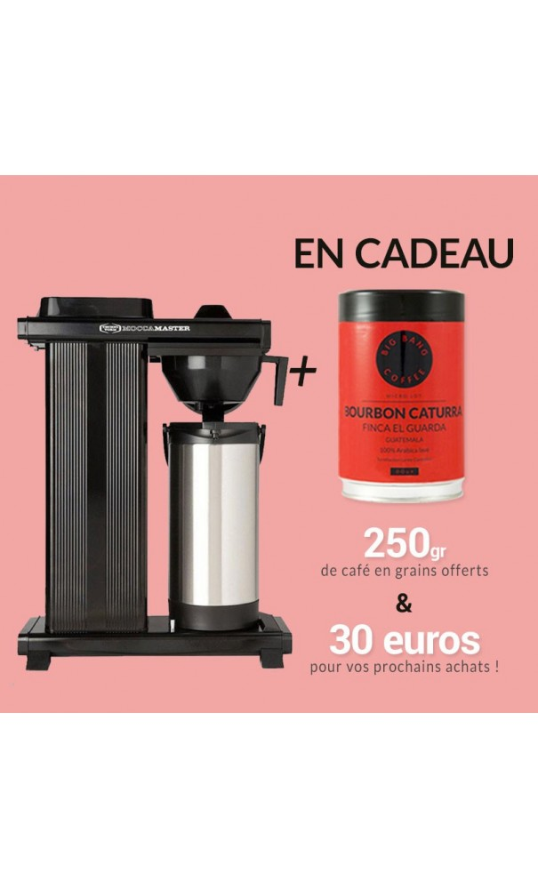moccamaster thermoking 3000 avec thermos 3 5l cafeti re filtre mo. Black Bedroom Furniture Sets. Home Design Ideas