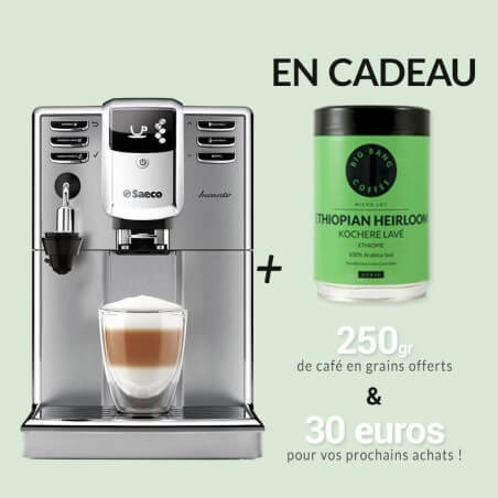 Machine Expresso Super Automatique : Saeco Incanto HD8914-01 - Chacun Son Café