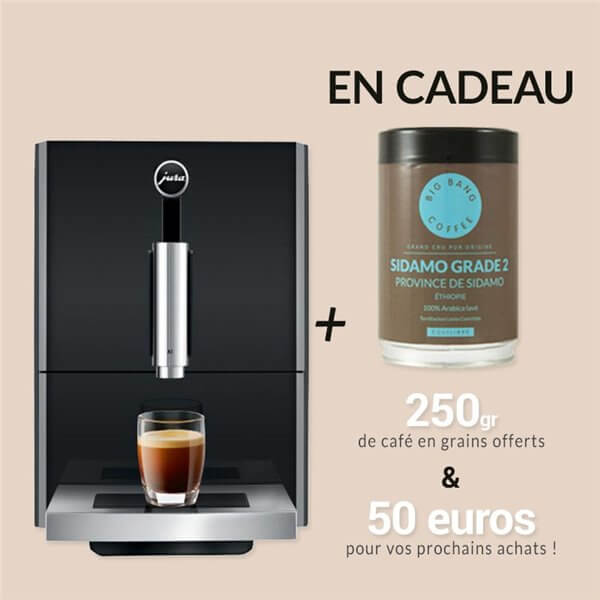 Machine-cafe#Jura-A1-black-offre-speciale