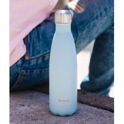 Bouteille Isotherme Inox Bleu Pastel 500 ml